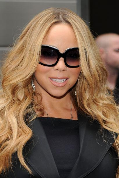 Cuando el rostro es redondo como el de Mariah Carey, la mejor opción es...