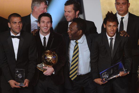 Al término de la Gala, todos los premiados se reunieron.
