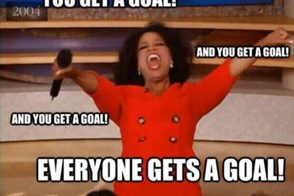 Oprah regala goles. Todo sobre el Mundial de Brasil 2014.