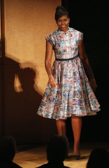 10 momentos de la moda de Michelle Obama GettyImages-474124544.jpg