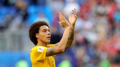 Axel Witsel está 'en oferta' y el Borussia Dortmund lo tendría amarrado