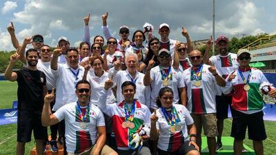 México se despide de los  JCC con una plata y tres bronces en Tiro Con Arco