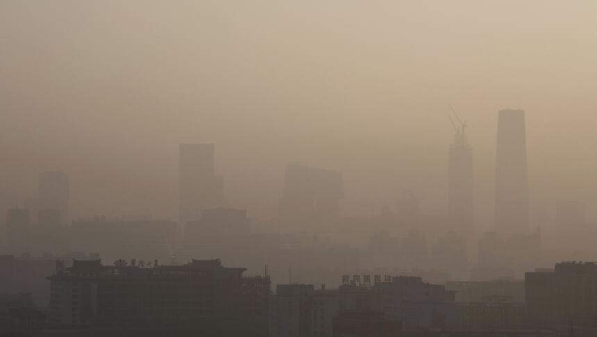 Contaminación en Pekín: nueva alerta roja pekin4.jpg
