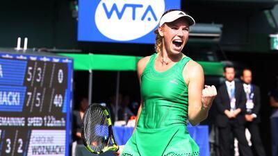 Caroline Wozniacki, la hermosa y atlética estrella en el mundo del tenis