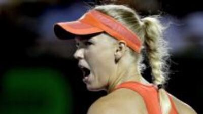 La danesa nunca ha podido ganar un Grand Slam.