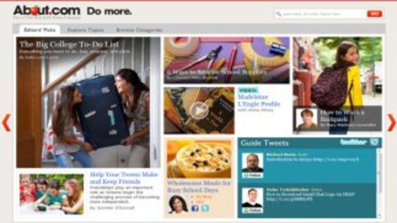 About.com, que hoy día cuenta con unos 100 millones de usuarios, fue adq...