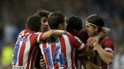 Atlético de Madrid hizo un buen partido ante el Real Madrid.