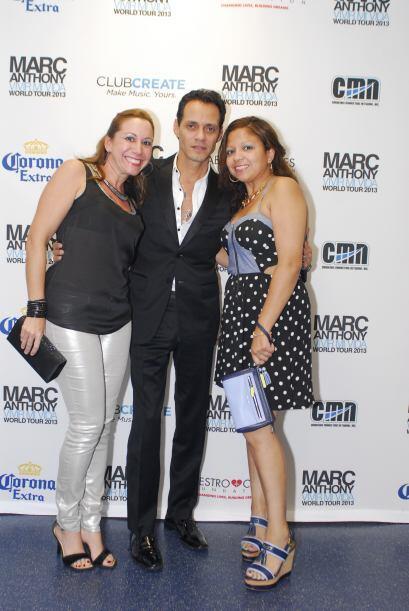 Marc Anthony Meet n Greet Ganadores