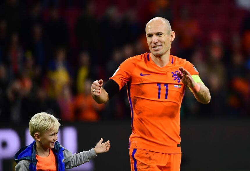 Holanda - UEFA: Arjen Robben (F.C. Bayern Múnich)
