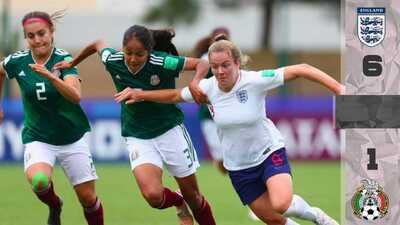 Se acabó el sueño: el 'Tri' Femenil cayó 6-1 ante Inglaterra y quedó fuera del Mundial Sub-20
