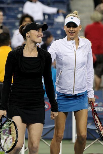 Martina Hingis, Anna Kournikova, Charlize Theron, Alessandra Ambrosio y...