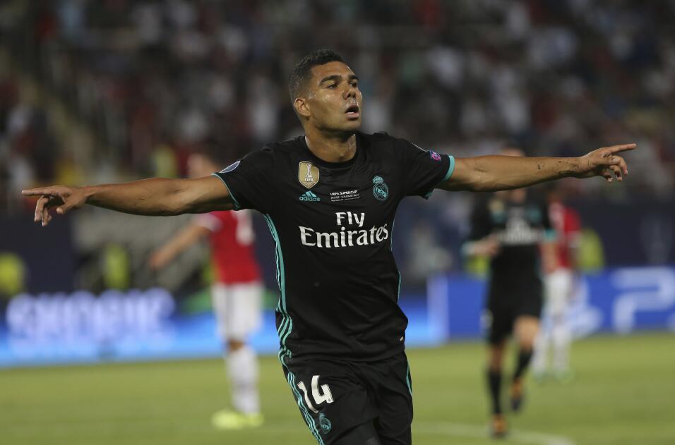 Casemiro (Real Madrid): 200 millones de euros