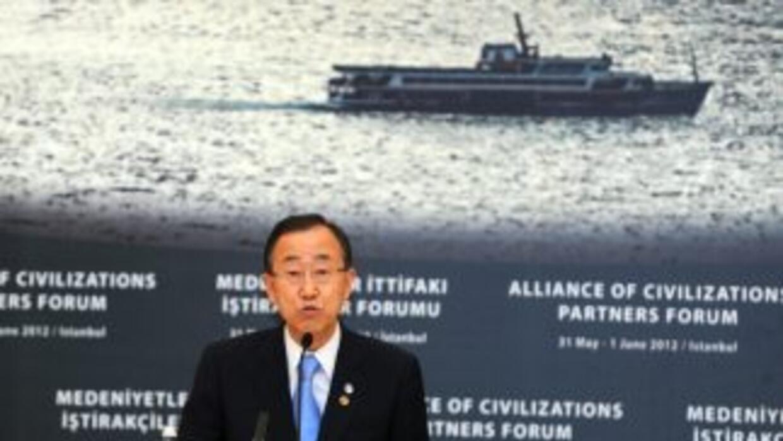 El secretario general de Naciones Unidas, Ban Ki-moon, advirtió el jueve...