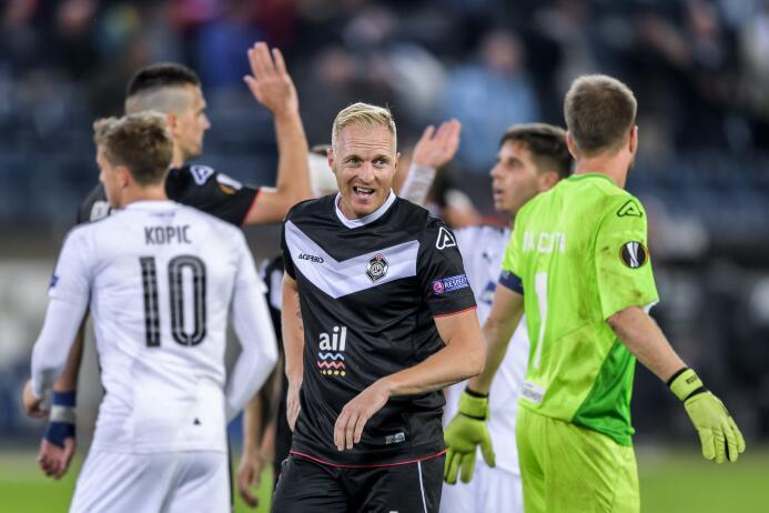 Lugano 3-2 Viktoria Plzen: la escuadra suiza sumó sus primeros 3 puntos...
