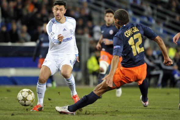 Esto fue aprovechado por el Schalke 04, que visitó al Montpellier.