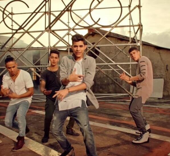 Los chicos de CNCO, que tienen seis nominaciones a Premios Juventud, est...