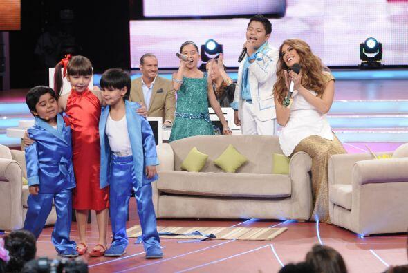 El tema musical del melodrama fue interpretado por Kenia y Miguel Ángel.