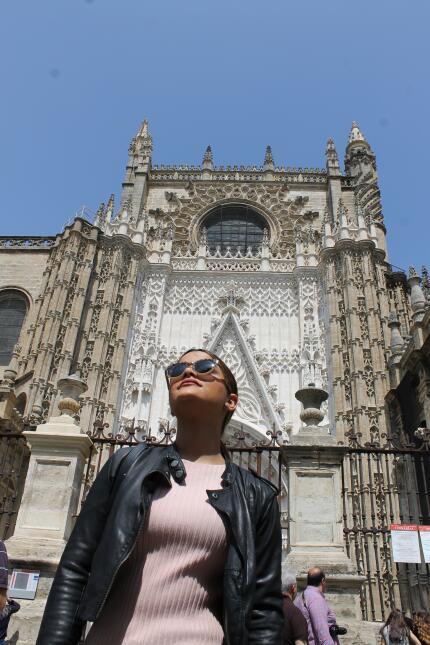 Estas son las fotos más bellas de Clarissa Molina en Sevilla IMG_4384.JPG