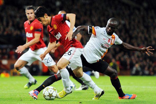 En el estadio Old Trafford, el Manchester United fue local ante el Galat...