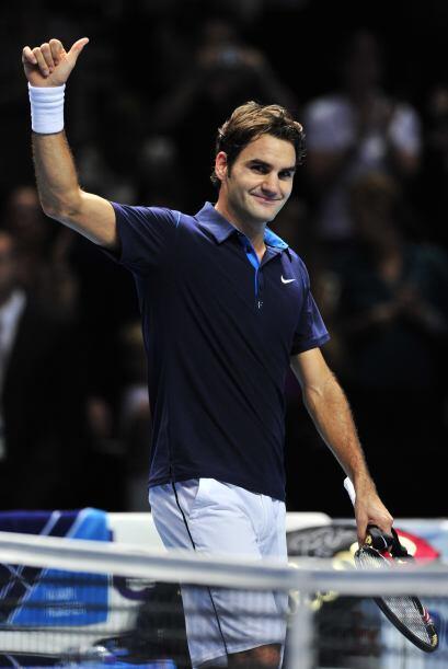 El helvético, que ya ganó a Ferrer en la final de la Copa de Maestros en...