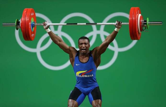 El colombiano Óscar Figueroa logró la primera medalla de oro para su paí...