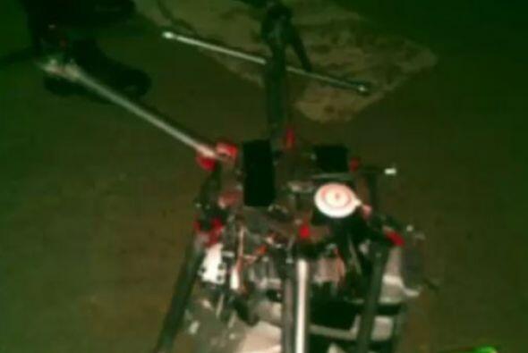 El objeto volador fue reportado a las autoridades de Tijuana, el martes,...