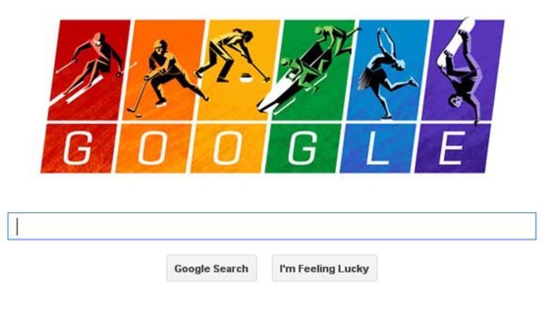 Google apoya a la comunidad gay con su doodle de los Juegos Olímpicos.