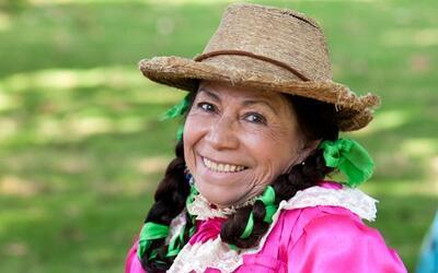 """María Elena Velasco, mejor conocida como """"La India Mar&iacut..."""