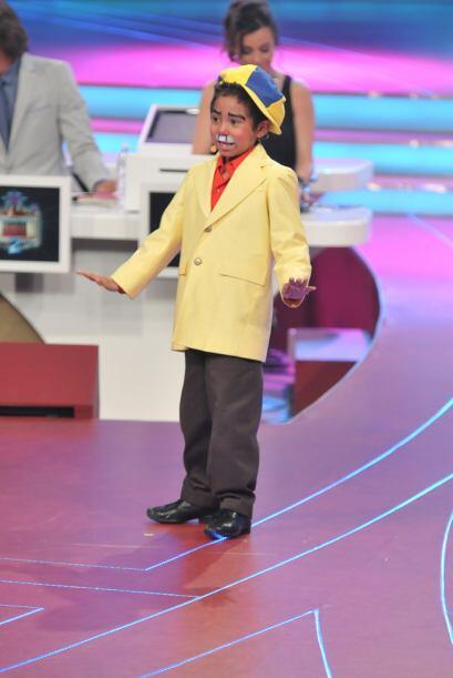 Además al programa llegó un gran imitador de el famoso comediante 'Resor...