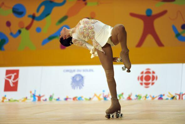 Giselle Soler mantuvo el hábito triunfal de Argentina en el patinaje art...