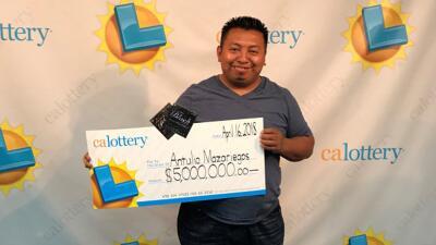 Antulio Mazariegos recogió su último premio de $5 millones, después de h...