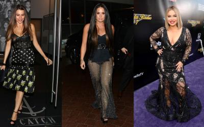 Sofía Vergara, Demi Lovato y Chiquis Rivera.