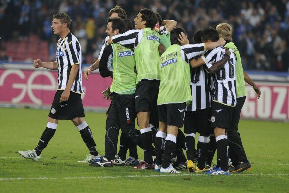 Con este resultado, el Nápoles se mantiene en segundo lugar, sin embargo...