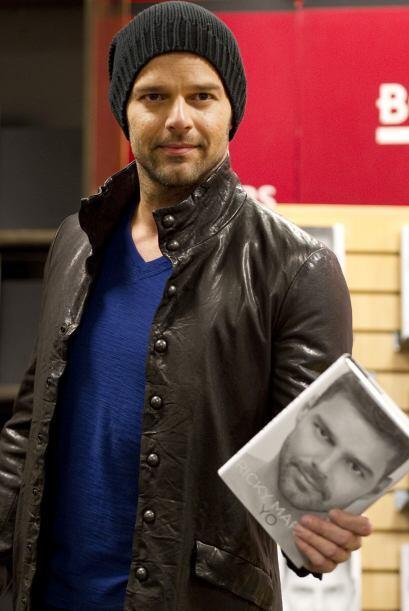 El cantante puertorriqueño Ricky Martin reveló en su p&aac...