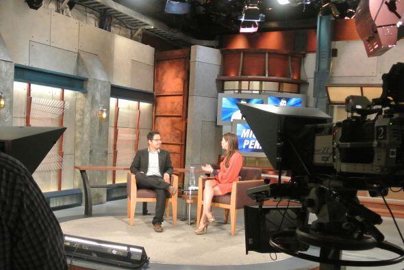 Michael Peña visitó Primer Impacto
