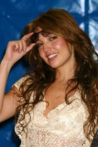 Thalía estuvo medicada y en observación tras contraer una infección llam...
