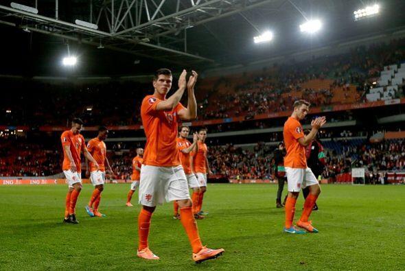La goleada en la cancha del Amsterdam Arena hacía creer que el equipo ho...