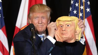 Donald Trump no maneja muy bien las bromas que se hacen a su costa.