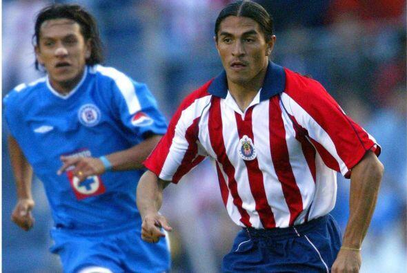 Juan Francisco Palencia puede presumir haber jugado con 3 de los grandes...