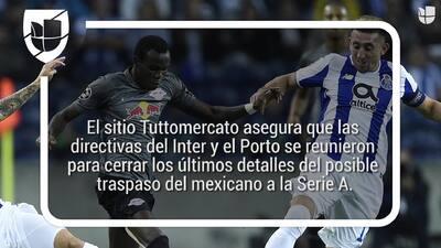 Fuentes aseguran que Inter y Porto negocian por Héctor Herrera