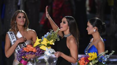 El mensaje de Miss Puerto Rico a la fugaz Miss Universo colombiana miss%...