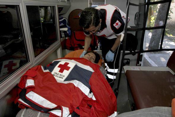 Los más de 50 heridos por la detonación fueron trasladados a otros hospi...