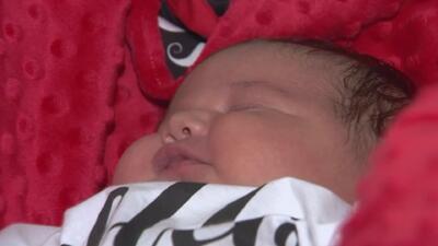 Conozcan a Raymond, el bebé 'gigante' que nació en California