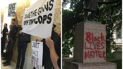 Tras el anuncio de la muerte del joven de 17 años se han desatado protes...