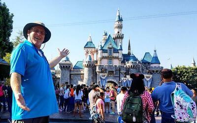 Disneyland visitante