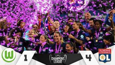 Sigue la hegemonía: Lyon conquistó su quinta Champions Femenil