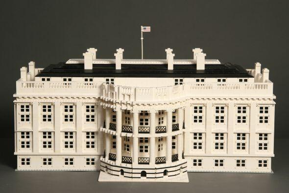 La Casa Blanca, increíblemente detallada. El mismo sitio asegura que Art...