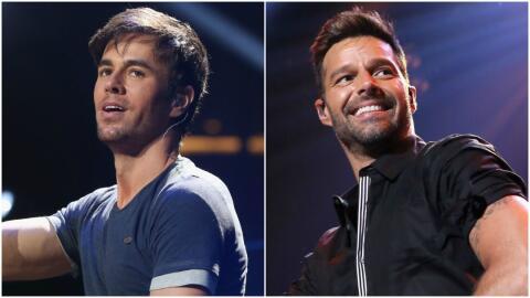 ¿Eres más como Enrique Iglesias o como Ricky Martin?