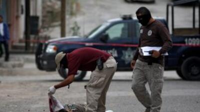 La narcoviolencia en México dejó 15,273 muertos en 2010, según cifras de...