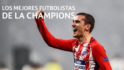 Los cinco mejores futbolistas de la Champions: Antoine Griezmann